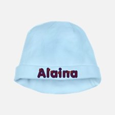 Alaina Red Caps baby hat