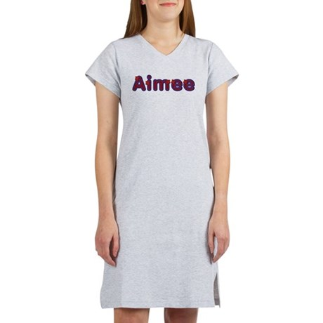 Aimee Red Caps Women's Nightshirt
