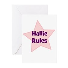 Hallie Rules Greeting Cards (Pk of 10)