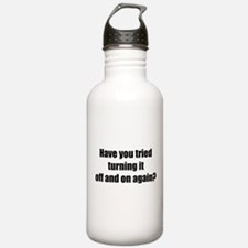 Off and on again Water Bottle