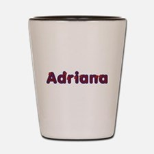 Adriana Red Caps Shot Glass