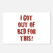 I Got Out Of Bed For This? Postcards (Package of 8