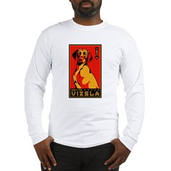 Obey the Vizsla! long sleeve t-shirt
