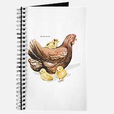 Hen and Chicks Chicken Journal