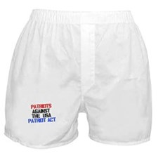 PATRIOT ACT Boxer Shorts
