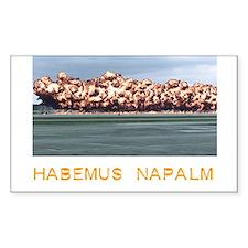 Habemus Napalm Decal