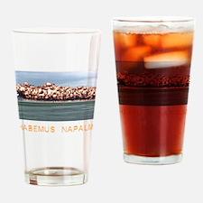 Habemus Napalm Drinking Glass