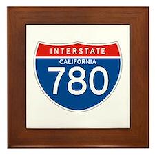 Interstate 780 - CA Framed Tile