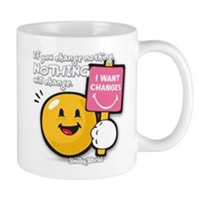 Looking for a change Smiley Mug
