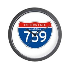 Interstate 759 - AL Wall Clock