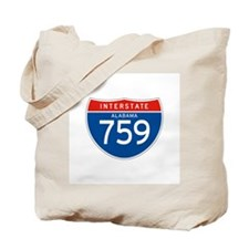 Interstate 759 - AL Tote Bag