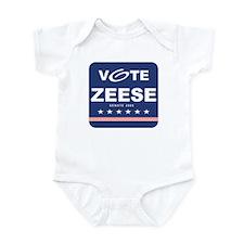 Vote Kevin Zeese Infant Bodysuit
