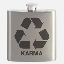 Funny Karma Flask