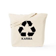 Funny Karma Tote Bag