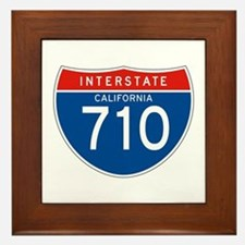 Interstate 710 - CA Framed Tile