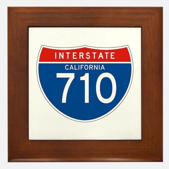 Interstate 710 - CA Framed Tile