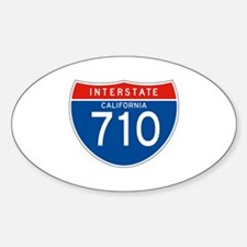 Interstate 710 - CA Oval Decal