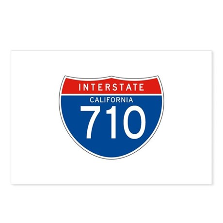 Interstate 710 - CA Postcards (Package of 8)