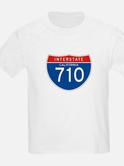 Interstate 710 - CA Kids T-Shirt