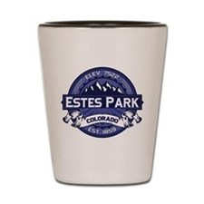 Estes Park Midnight Shot Glass