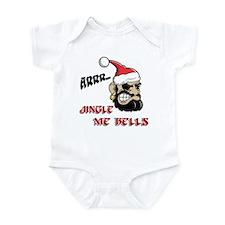 Santa Pirate Infant Bodysuit