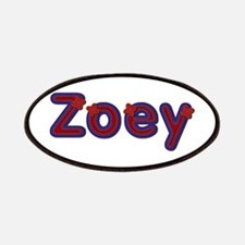 Zoey Red Caps Patch