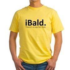 iBald Funny Bald Balding T-Shirt