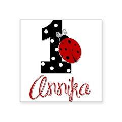 1 Ladybug ANNIKA - Custom Sticker