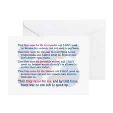They Came for Me Greeting Cards (Pk of 10)