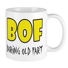 Boring Old Fart Small Mug