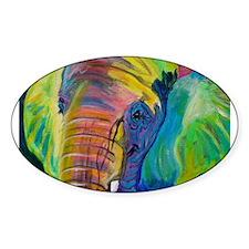 Elephant Rectangle Decal