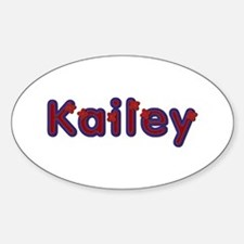 Kailey Red Caps Oval Decal