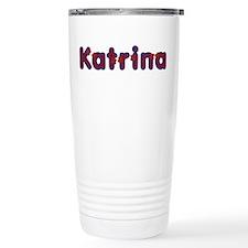 Katrina Red Caps Travel Mug