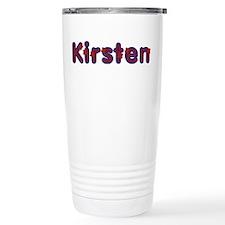 Kirsten Red Caps Travel Mug