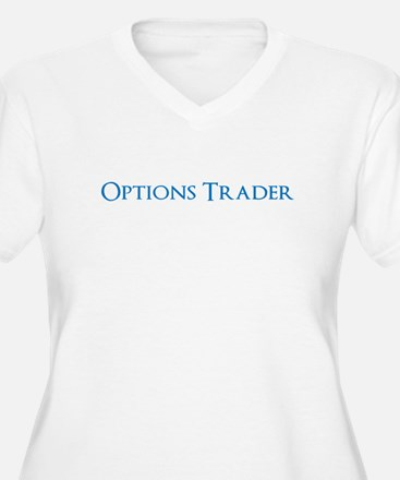 Options Trader Plus Size T-Shirt