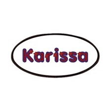 Karissa Red Caps Patch