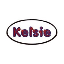 Kelsie Red Caps Patch