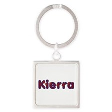 Kierra Red Caps Square Keychain