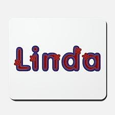Linda Red Caps Mousepad