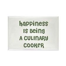 Happiness Is Being A CULINARY Rectangle Magnet