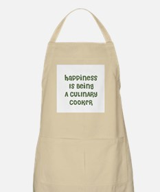 Happiness Is Being A CULINARY BBQ Apron