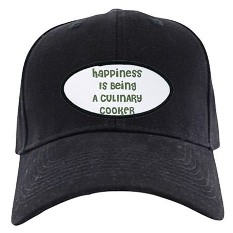 Happiness Is Being A CULINARY Black Cap