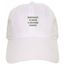 Happiness Is Being A CULINARY Baseball Cap