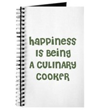 Happiness Is Being A CULINARY Journal