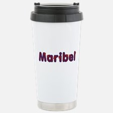 Maribel Red Caps Travel Mug