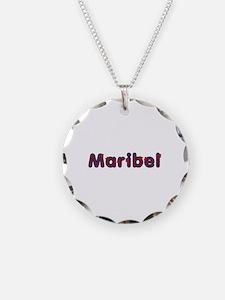 Maribel Red Caps Necklace