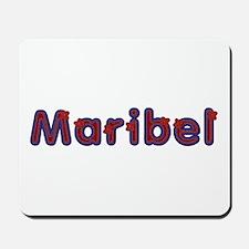 Maribel Red Caps Mousepad