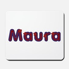 Maura Red Caps Mousepad