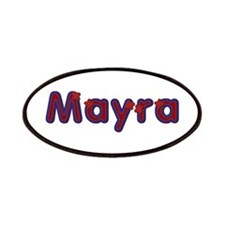 Mayra Red Caps Patch
