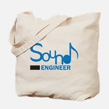DJ or music lover 'Sound Engineer' design Tote Bag
